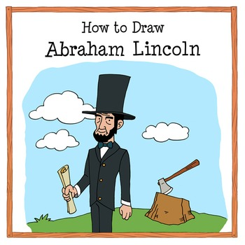 350x350 Abraham Lincoln Drawing Tutorial How To Draw Abraham Lincoln Tpt