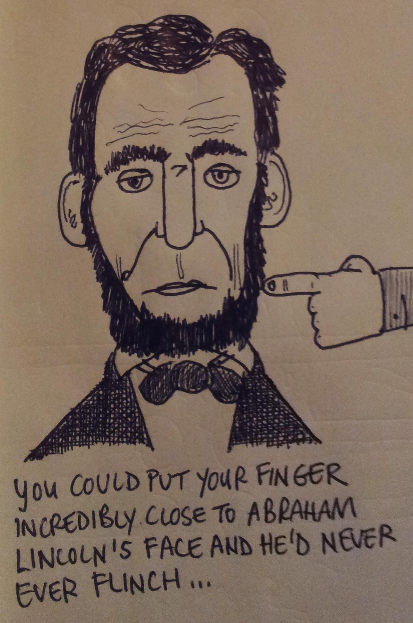 1414x2129 Rare Abraham Lincoln Factoid Slacker Shack