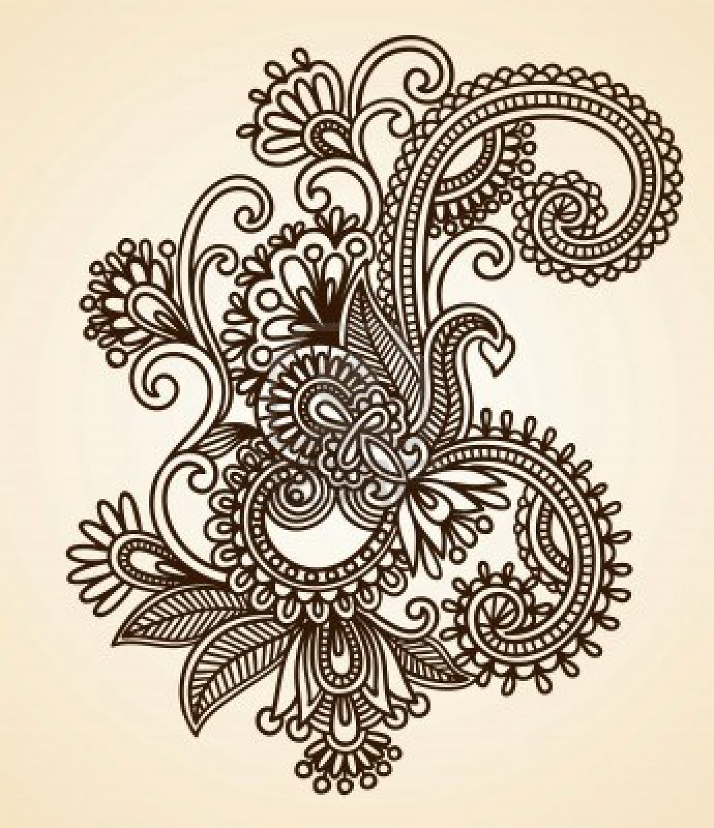 1035x1200 Dragonfly Henna Designs Abstract Henna Mehndi Tattoo Design