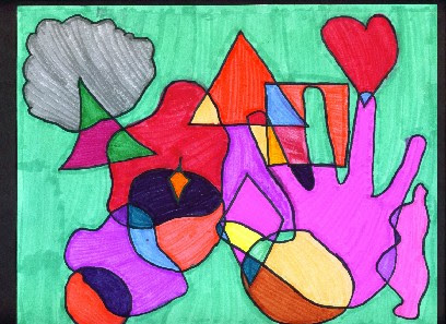 408x297 art makes kids smart abstract art with shapes