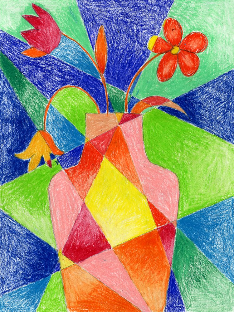 750x1000 dissected flower drawing flower art art and corner