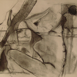 270x270 Abstract Figurative Drawings Original Artwork For Sale