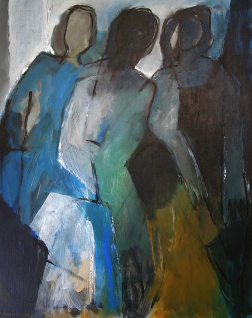 507x640 Engelina Zandstra Artwork Composition 959 Original Painting