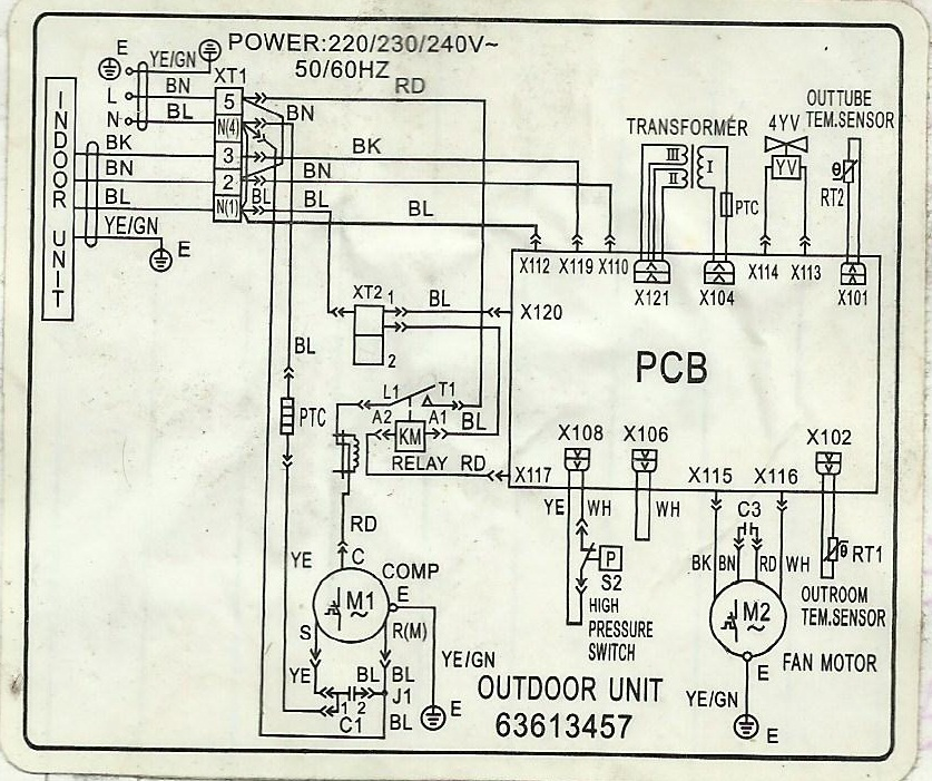 window type air con wiring diagram wiring diagram write
