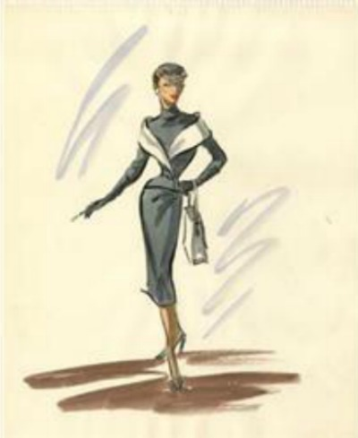 400x489 Living In Fifties Fashion 1954's Costume Design Academy Award Winners