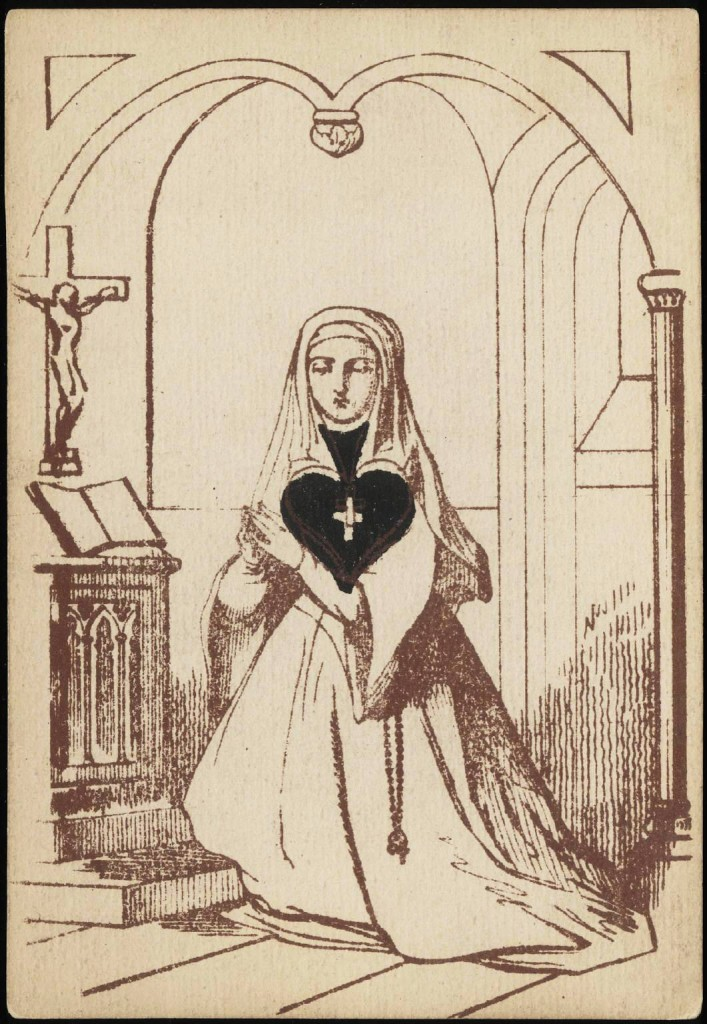 707x1024 Entertainment Playing Card Ace Of Spades Nun With Spade As