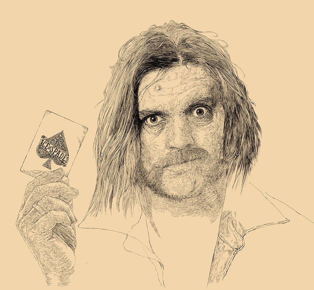 1000x922 Lemmy Kilmister Drawing