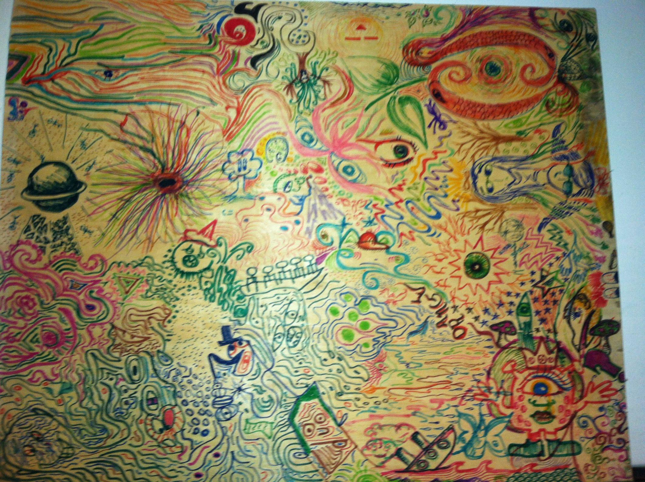 2125x1587 The Things You Draw On Acid