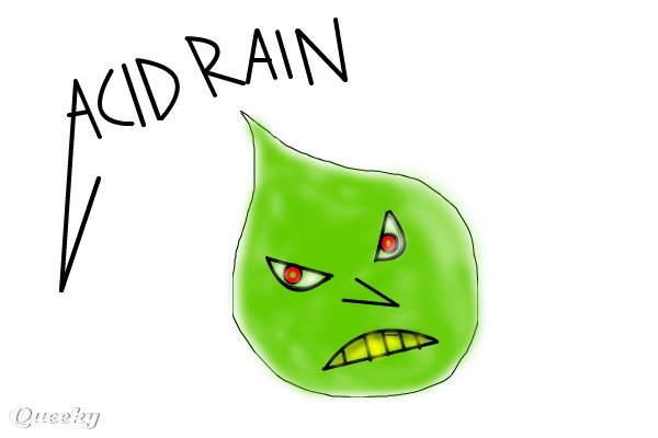 600x400 Acid Rain! A Music Speedpaint Drawing By Metalhead777