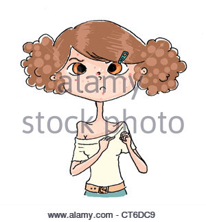 300x323 Acne, Drawing Stock Photo, Royalty Free Image 49310301
