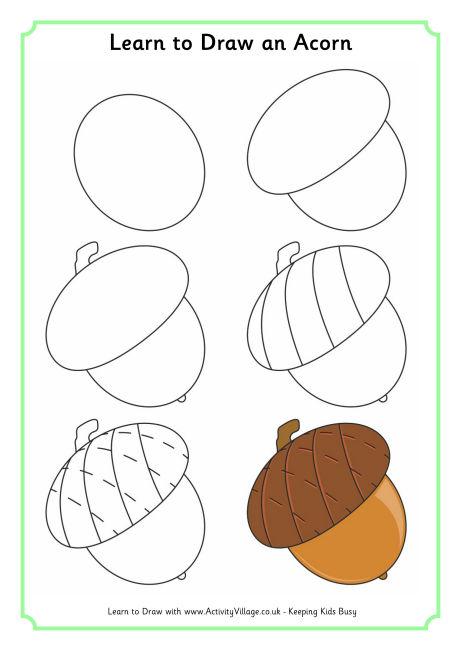 460x650 Learn To Draw An Acorn 460 0.jpg