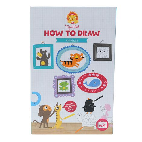 470x470 Tiger Tribe How To Draw Activity Set