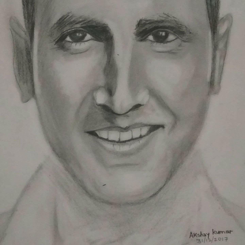 1440x1440 Akshay Kumar Akshay Kumar Drawing. Pencil Drawing Of Actor Akshay