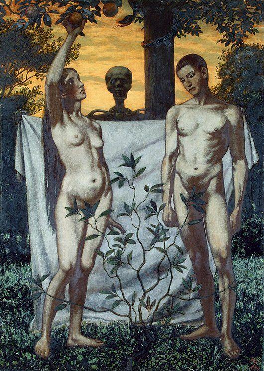 530x745 Adam And Eve