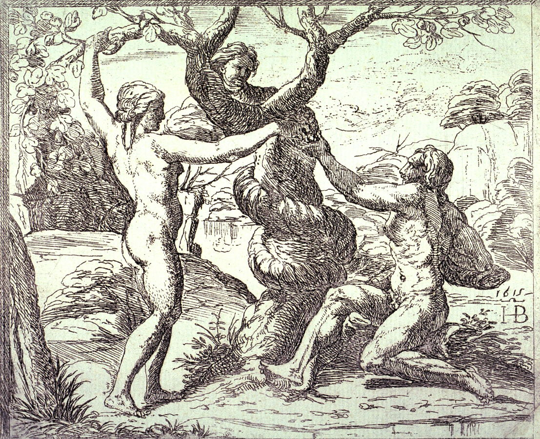 1107x900 Adam And Eve Eating The Forbidden Fruit