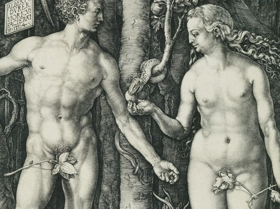 915x685 King James Ablaze! Adam Amp Eve Amp The Serpent