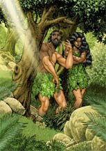 153x217 The Bible Illustration Blog Drawing Adam And Eve