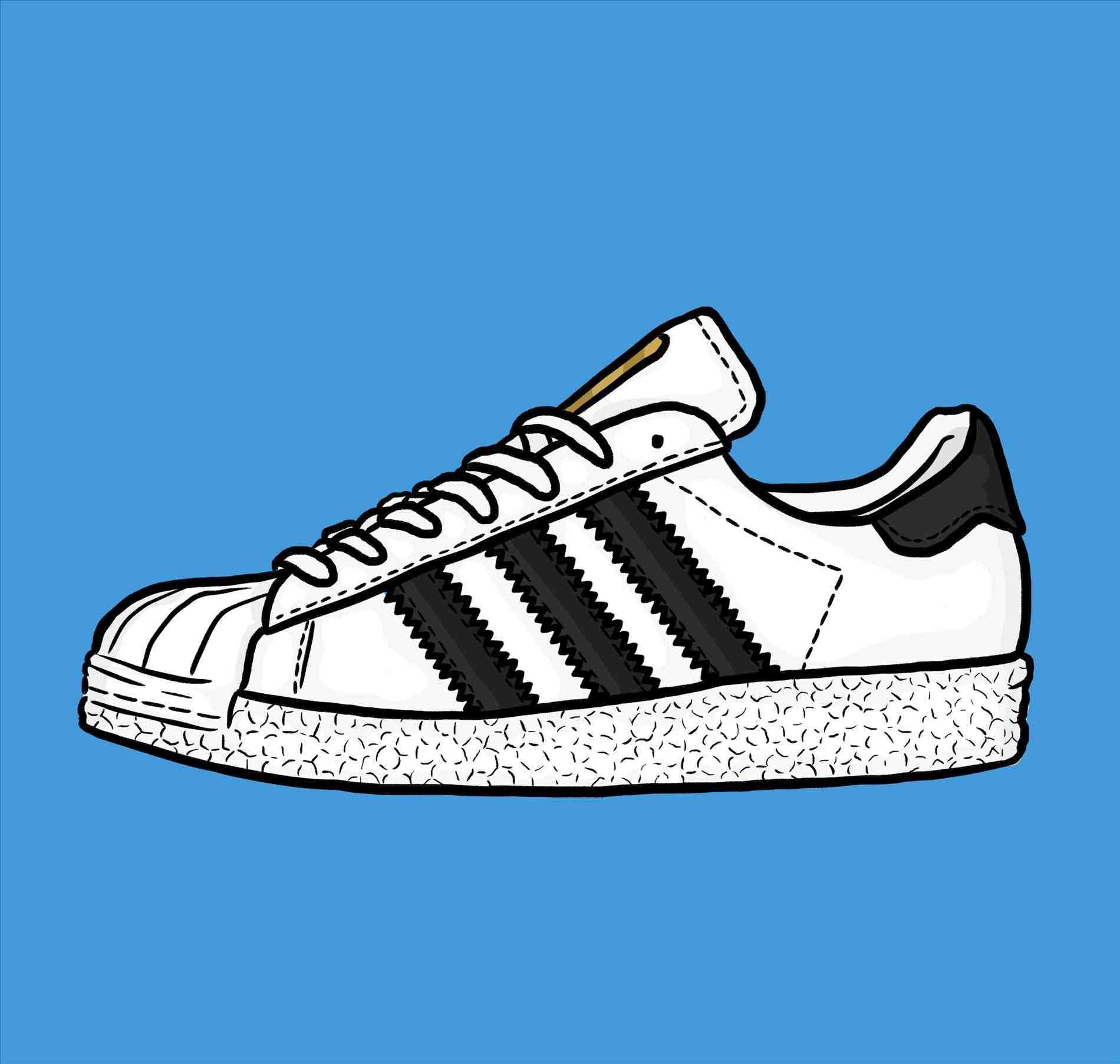 new style 07d79 aa2f1 Adidas Drawing at GetDrawings.com | Free for personal use ...