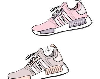 adidas shoes drawings