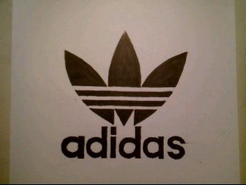 480x360 How To Draw Adidas Logo Sign Easy Step By Step Tutorial Challenge