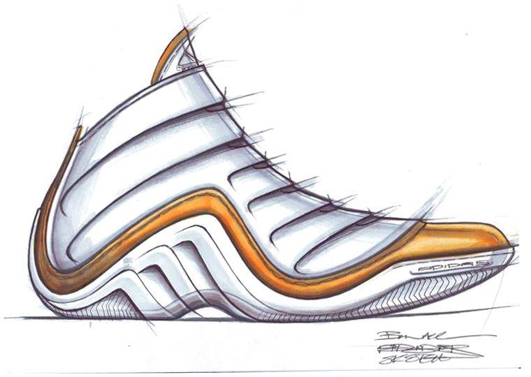 760x540 Shoe Sketches Adidas Sketch