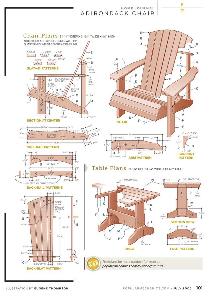 700x997 Free Diy Adirondack Chair Plans Build Adirondak Chair Plans