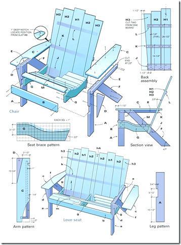 358x484 Adirondack Chair Plans Glassnyc.co