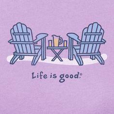 236x236 Life Is Good Adirondack Chair Drawing