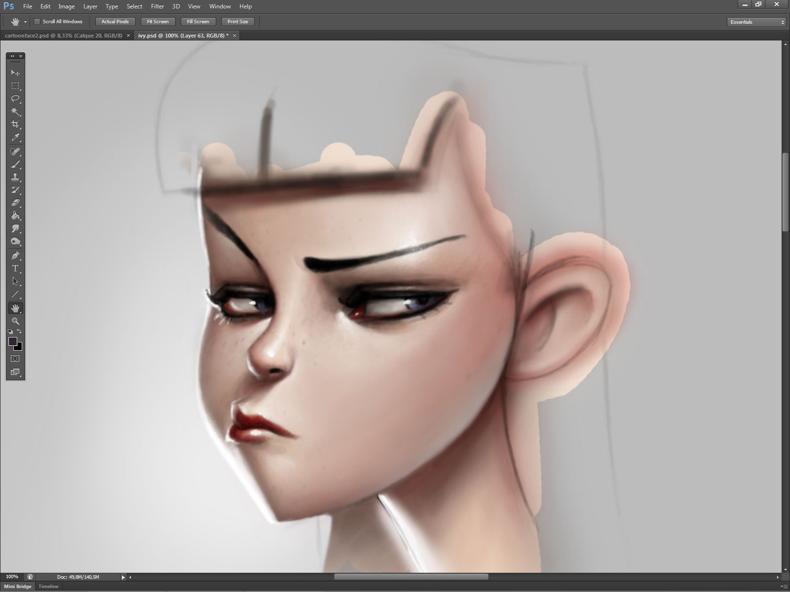 1600x1200 Create Cartoon Character Face With Serge Birault