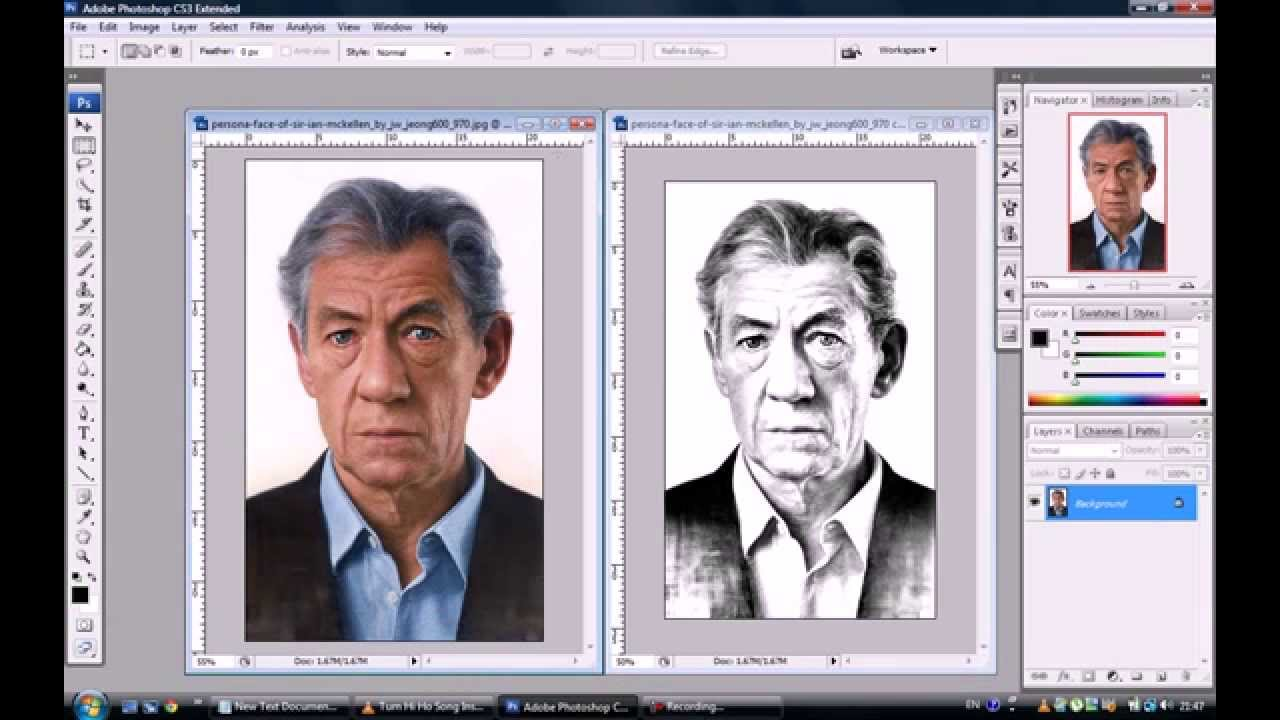 1280x720 How To Transform Photos Into Pencil Drawings