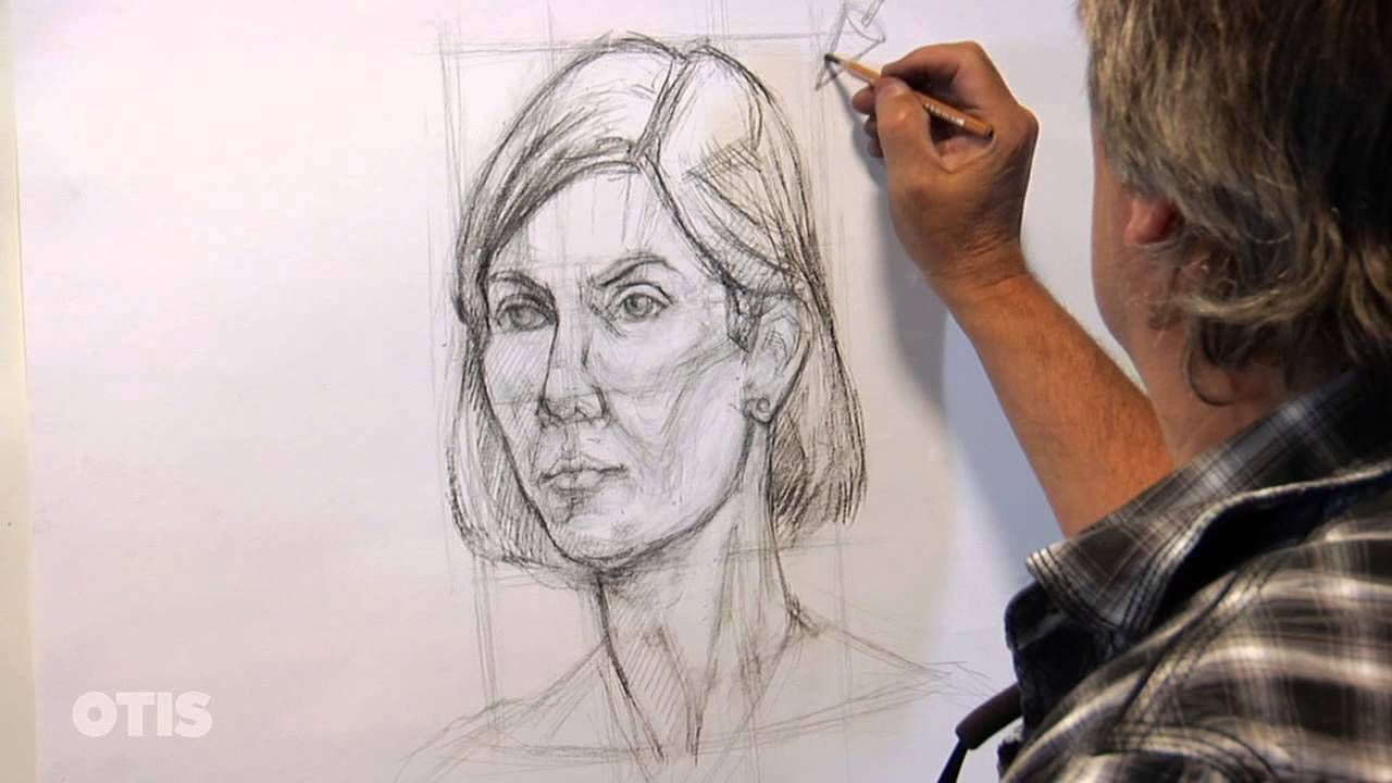 1280x720 Advanced Portrait Drawing With Gary Geraths (Otis College)