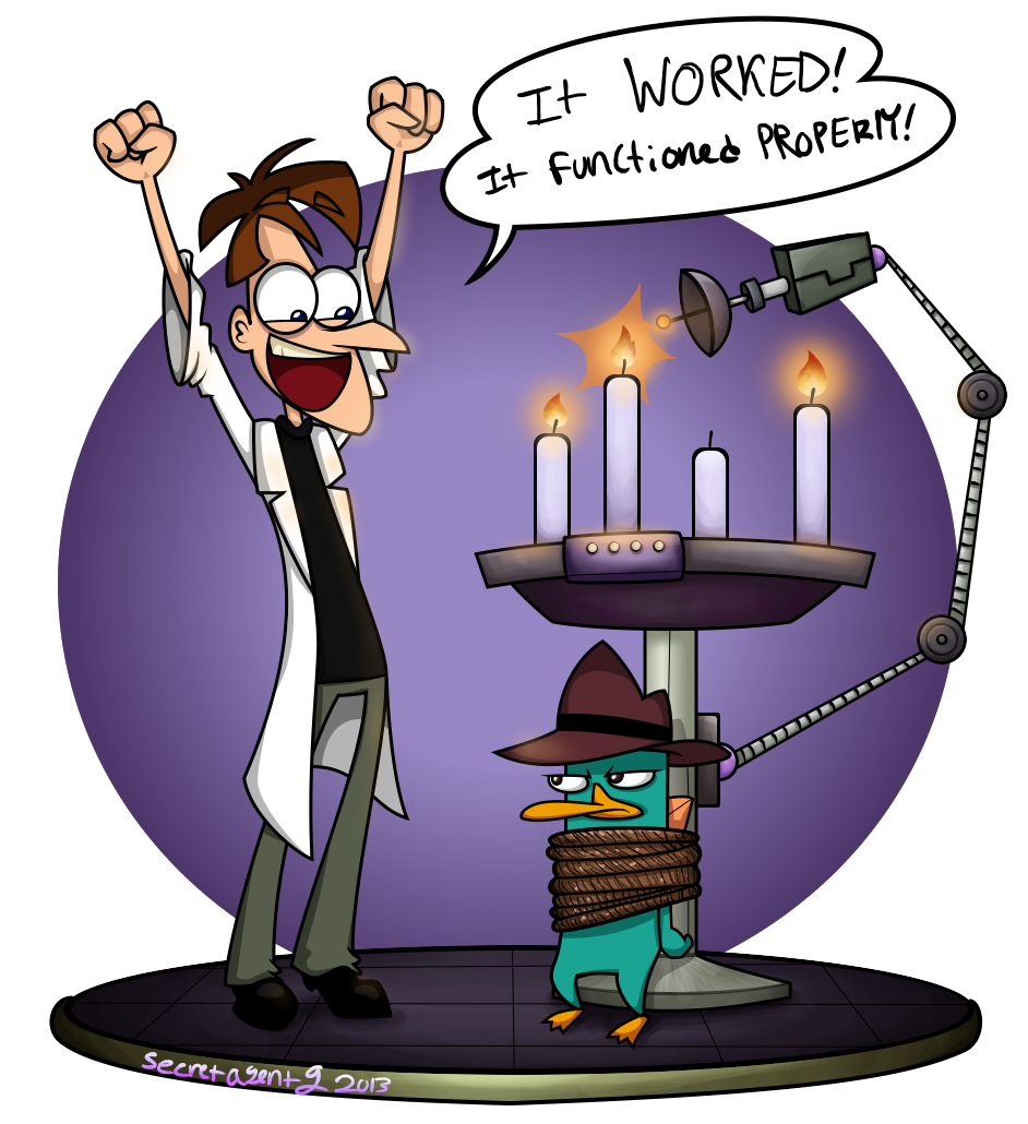 942x1030 Advent Candle The First Phineas And Ferb By Secretagentg