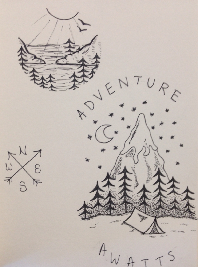 842x1136 Adventure Ink Drawings Ink Illustrations Ink