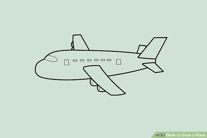 728x485 4 Ways To Draw A Plane