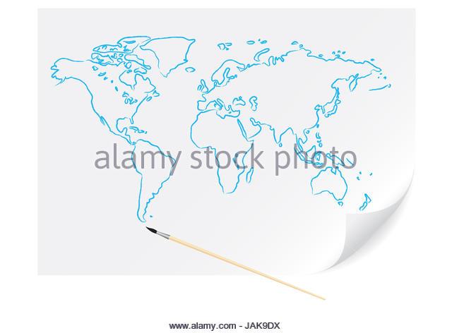 640x472 Africa Map Cartoon Stock Photos Amp Africa Map Cartoon Stock Images