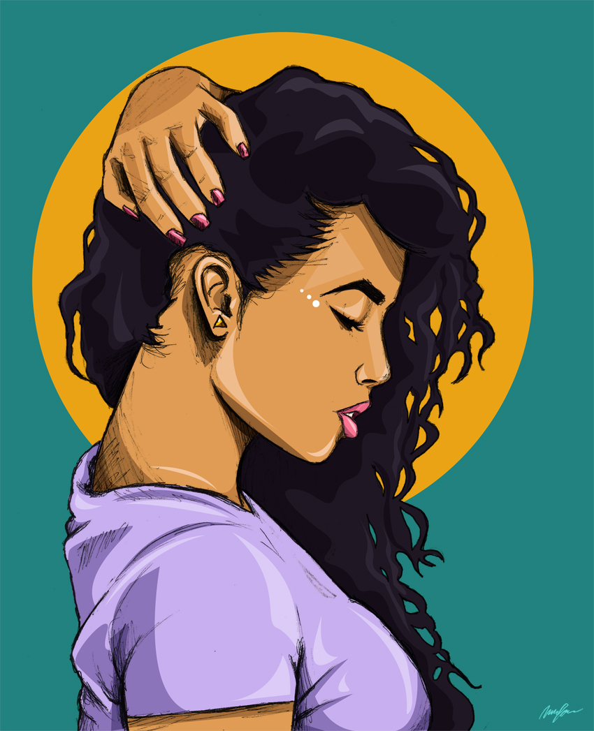 850x1047 Black Girl Drawing Tumblr Black Girl Drawing Tumblr
