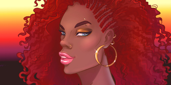 660x330 How To Draw African American Hair I Draw Fashion