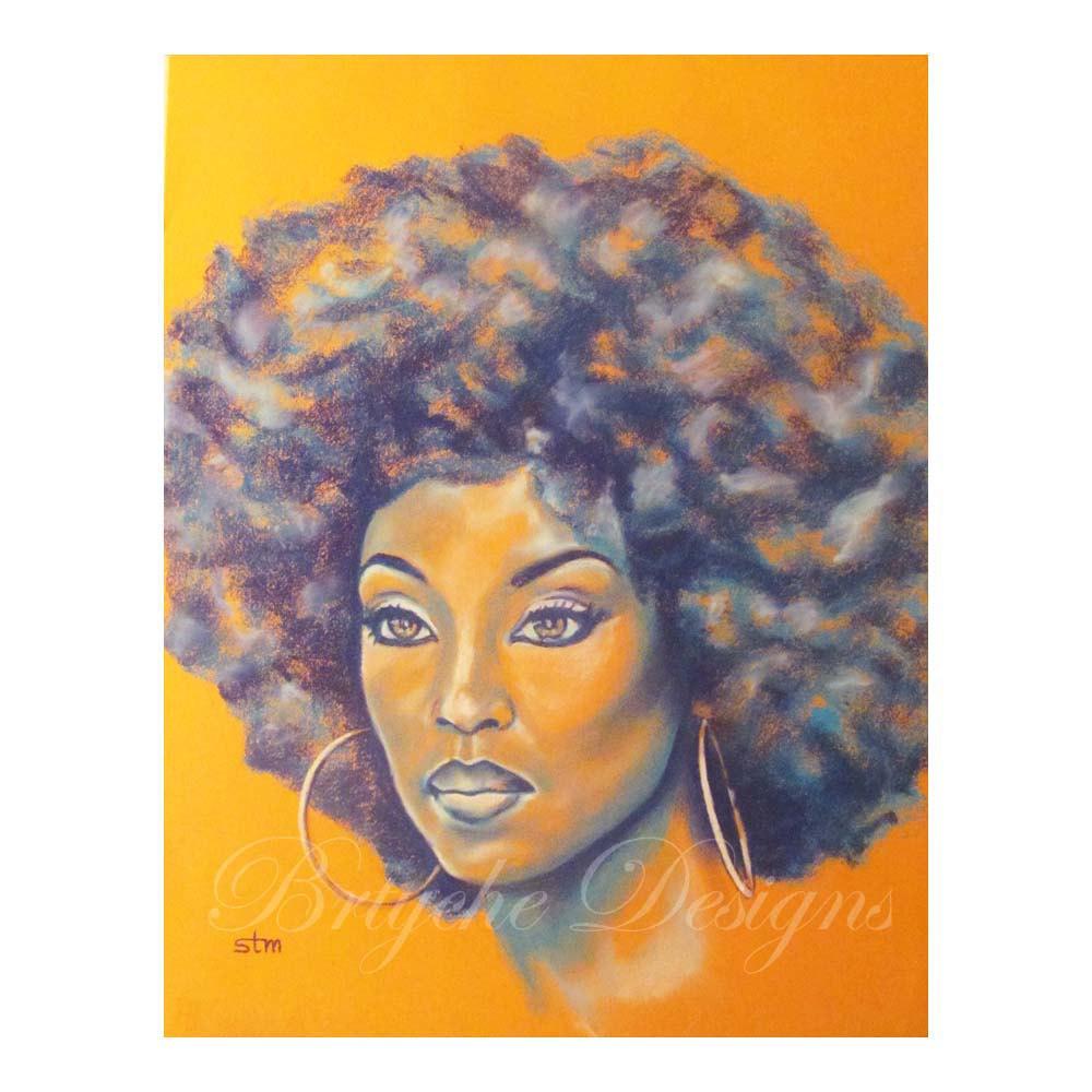 1000x1000 Orange Is The New Black African American Art Wall Art Art