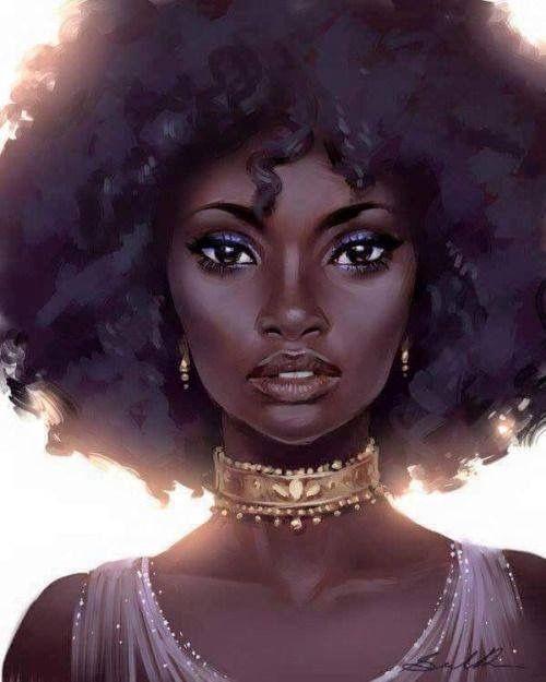 500x625 Photos Black Women Drawing,