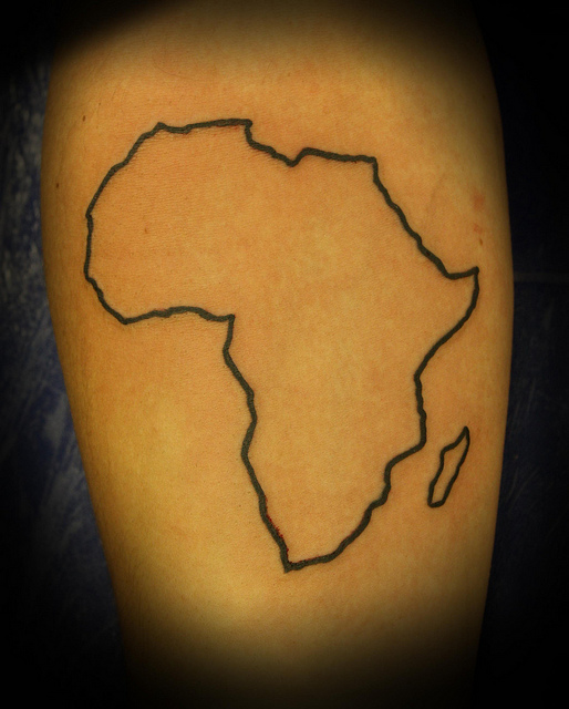 514x640 Com Img Src Http Www Tattoostime Images 357 Outline African Mao