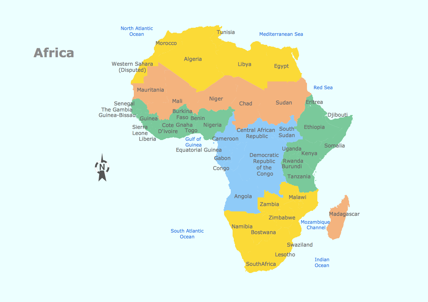 African continent drawing at getdrawings free for personal use 1404x990 geo map gumiabroncs Image collections