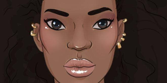660x330 Drawing African Features I Draw Fashion