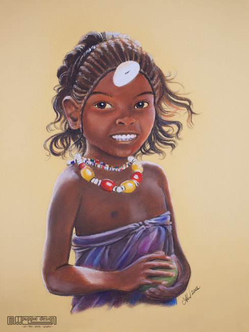 488x650 Items Similar To African Portrait Artwork