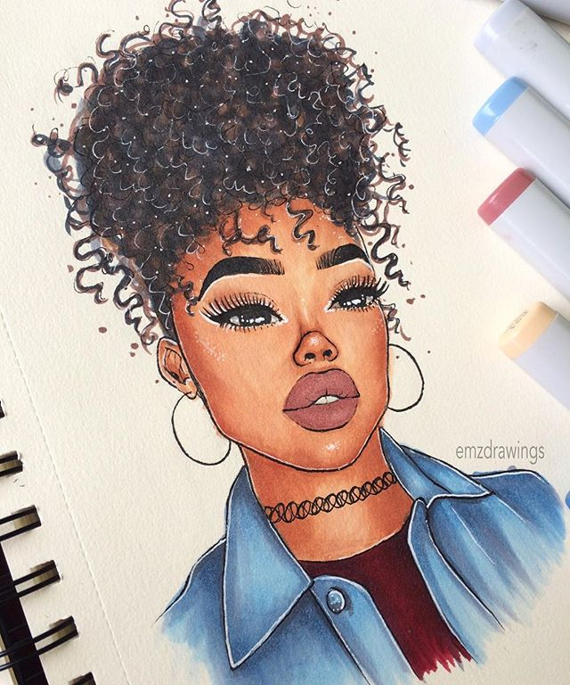 640x768 Yasiamo Art Drawings, Black Girls And Sketches