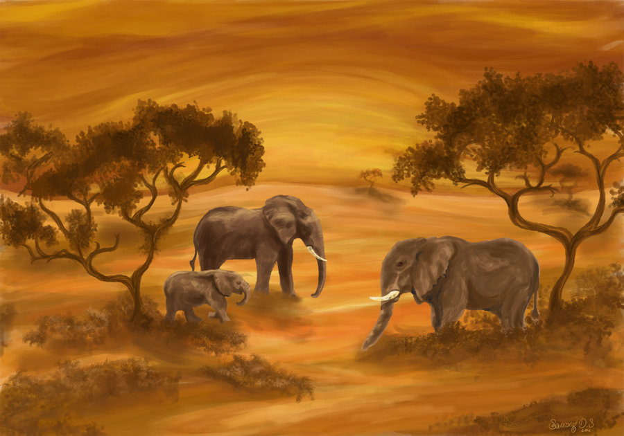 900x630 African Landscape By Sarkany86