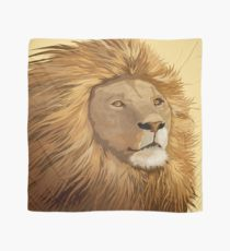 210x230 African Lion Drawing Scarves Redbubble
