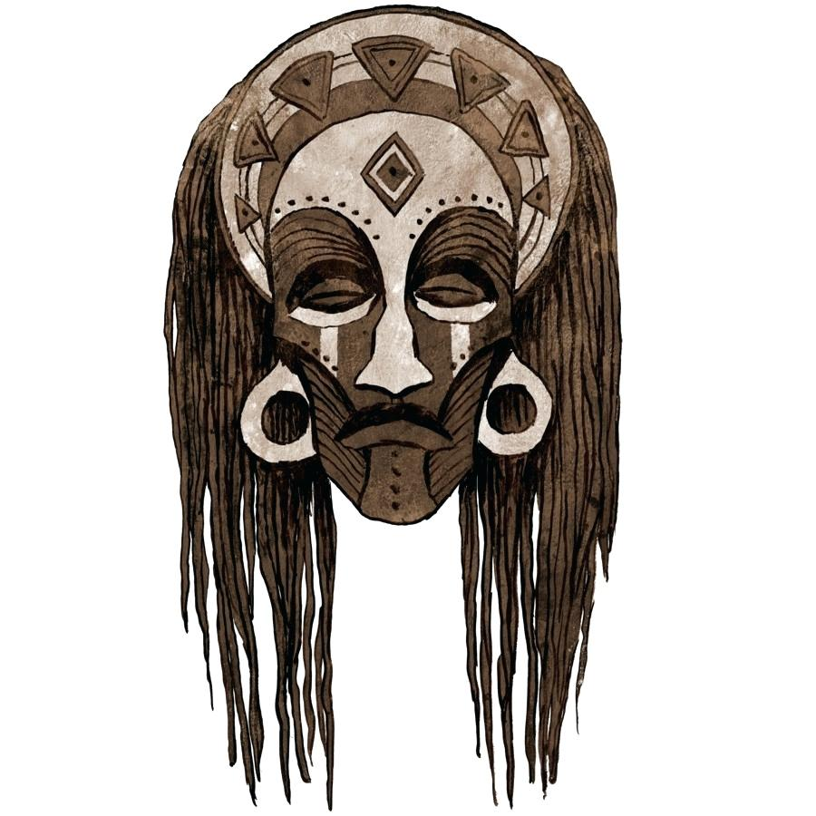 african mask drawing at getdrawings com free for personal use