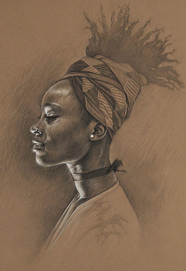 736x1069 Black Woman Drawing 1205 Best Black Art Images