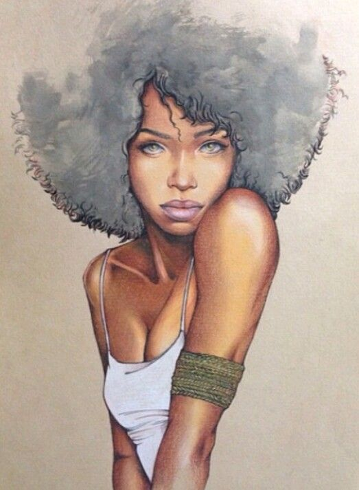 523x713 Natural Hair Style Pictures Natural Hair Art, Hair Art And Style