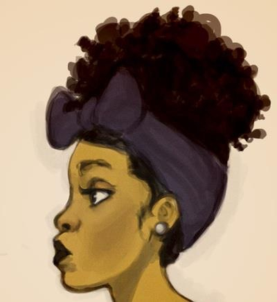 400x436 35 Images About Afro Artwork On We Heart It See More About